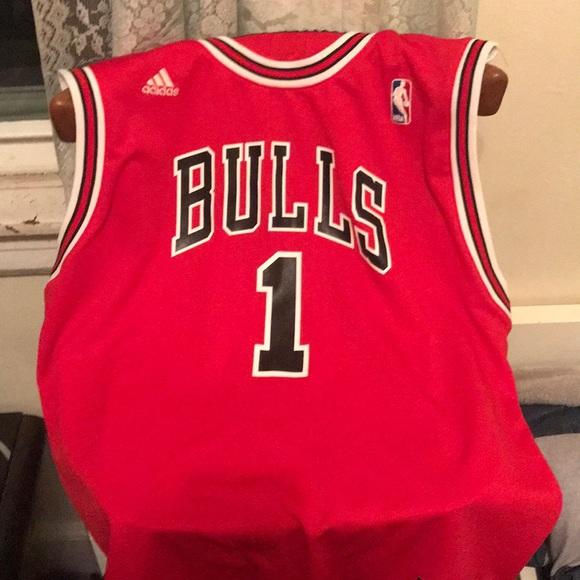 huge discount 0b2ed e8c22 Derrick Rose bulls jersey
